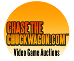 Chase the Chuckwagon video game auctions