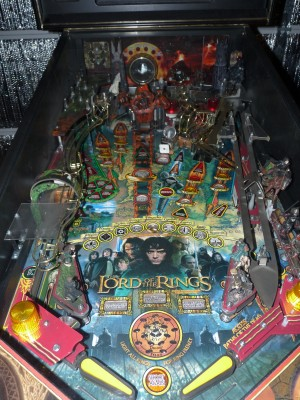LotR pinball dirty