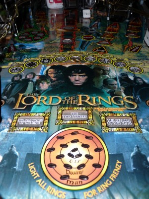 Same LotR pinball after a few passes with Novus